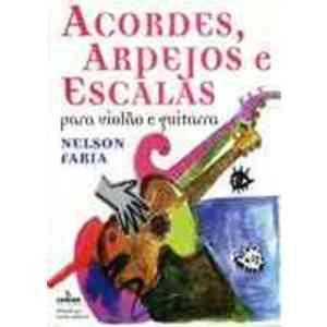 Livro - Acordes, Arpejos e Escalas para Violão e Guitarra - 9788574072906